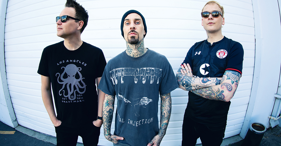 """Blink-182 nos trae un regalo de viernes con su nueva canción, """"Darkside"""""""