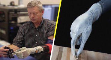 El 'brazo Luke' inspirada en Skywalker es la única prótesis con sensibilidad