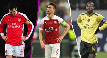 La maldición de los capitanes del Arsenal que se extiende por 15 años