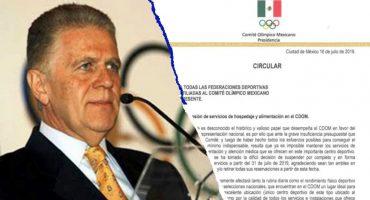 Centro Deportivo Olímpico Mexicano cierra sus instalaciones por falta de presupuesto