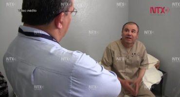 """Notimex difunde imágenes inéditas del Chapo en prisión: """"me porto bien"""", decía"""