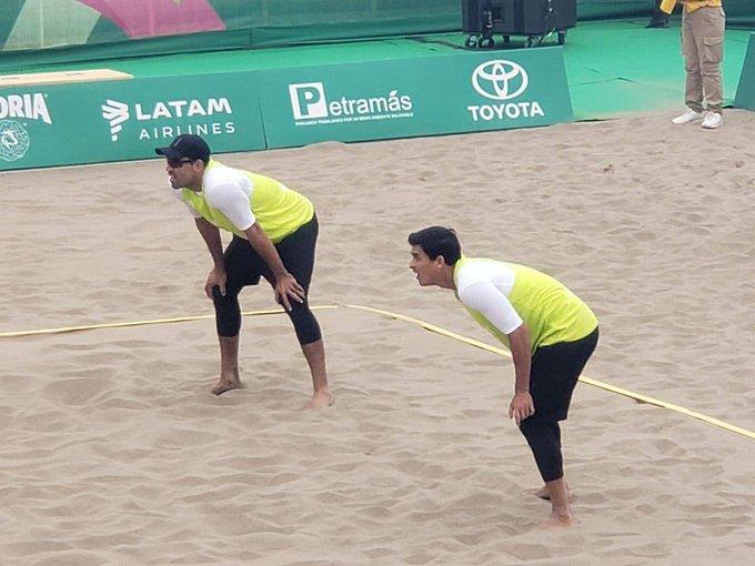 Chile le arrebató la medalla de oro a México en la final de Voleibol de playa varonil
