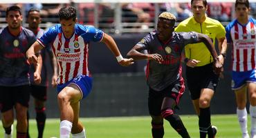 Benfica le pasa por encima a las Chivas en la International Champions Cup