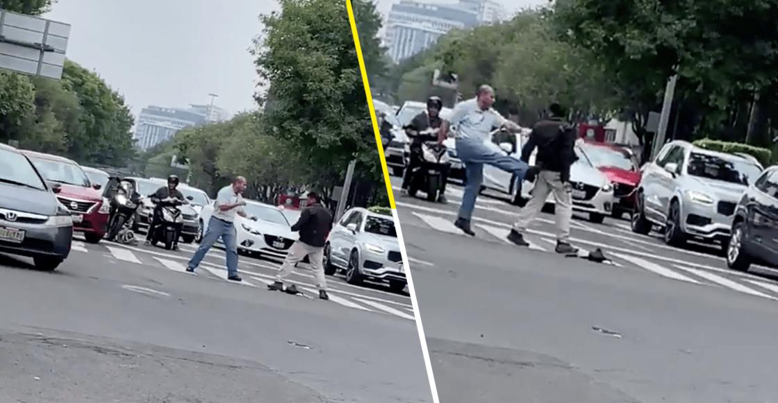 Hay tiro, hay tiro: Le mientan la madre a chofer de Uber y pide permiso para pelearse en la calle