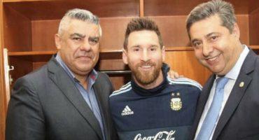 La sanción de la Conmebol a Claudio Tapia por 'defender' a Messi y sus críticas