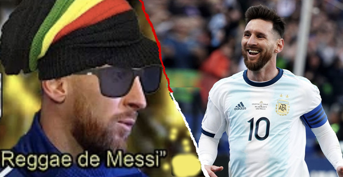 Un genio hizo una canción de reggae usando las polémicas declaraciones de Messi