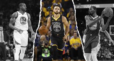 Curry espera sacar adelante a lo que quedó de los Warriors junto a Russell