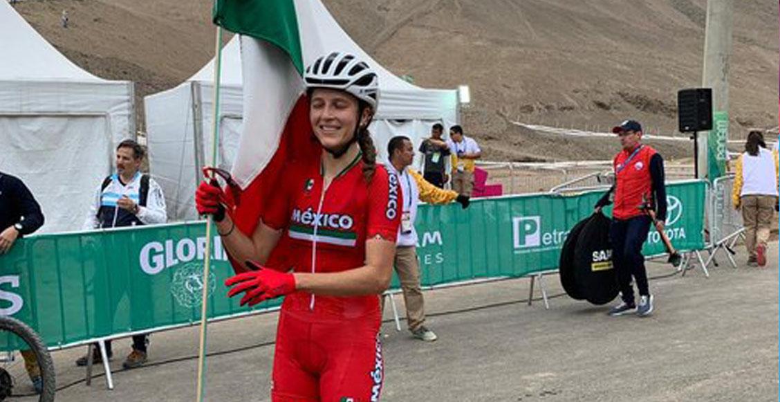 ¡Daniela Campuzano le da a México su séptimo oro de Panamericanos en ciclismo de montaña!