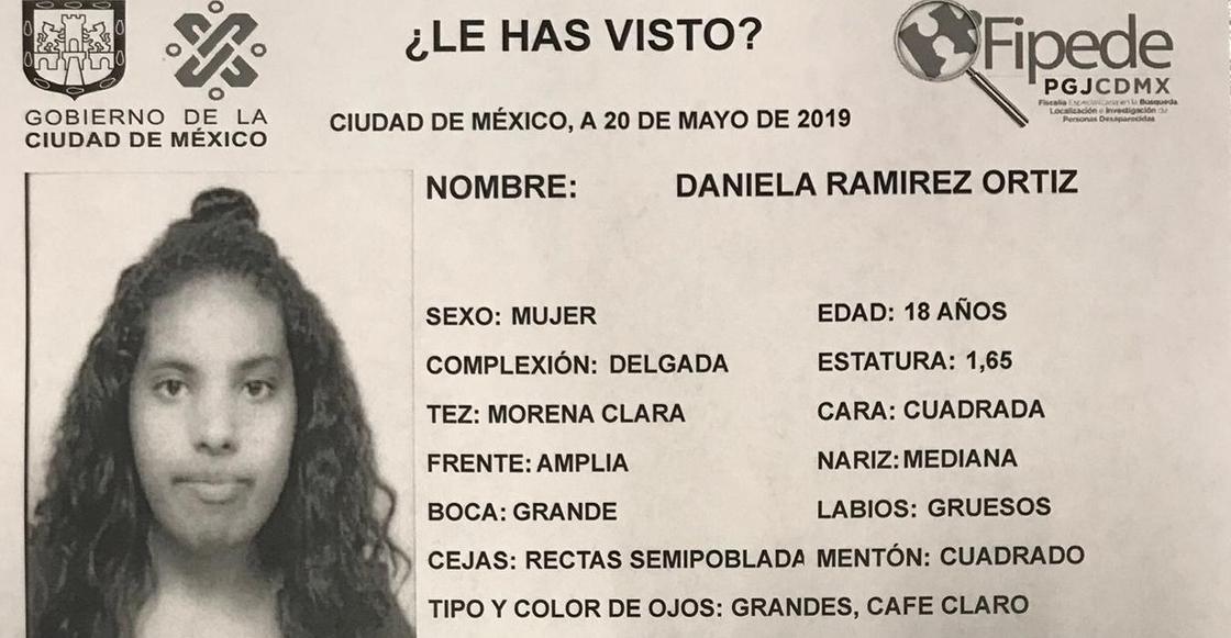 Familiares de Daniela Ramírez reconocen su ropa entre osamentas encontradas en Tlalpan