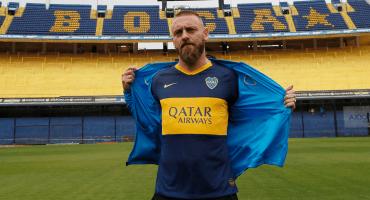 De Rossi compró 100 playeras de Boca Juniors con su número y apellido