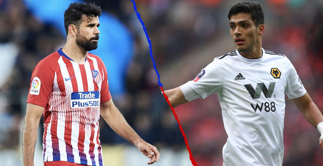 ¡Tiembla la Premier! Diego Costa haría dupla con Raúl Jiménez en los Wolves