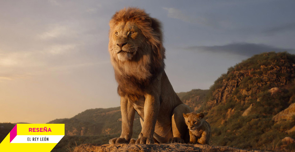 'El rey león' es una verdadera obra visual pero sin la magia del clásico animado