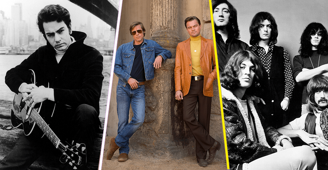 Deep Purple, Neil Diamond y más en el soundtrack de 'Once Upon A Time in Hollywood' de Quentin Tarantino