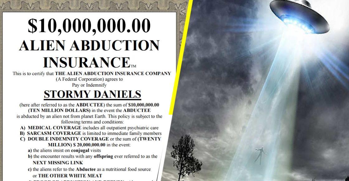 Ya puedes contratar un seguro contra una abducción extraterrestre