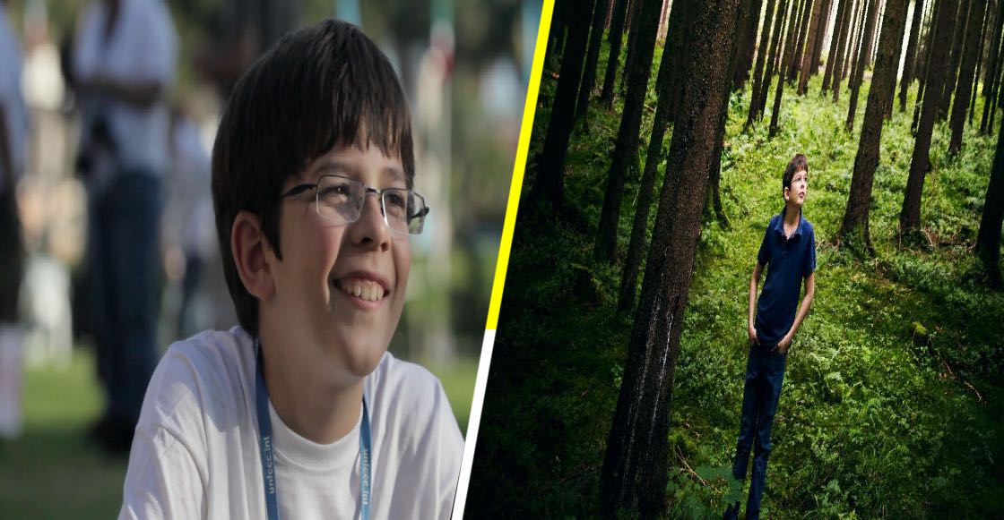 Felix Finkbeiner, el joven que plantó un millón de árboles a los 12 años y busca sembrar un billón más