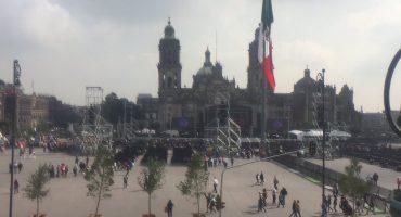 Ojo aquí, Fepade: Suena la canción de Morena en el evento de AMLO en el Zócalo