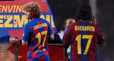 Griezmann jugará en el Barcelona con el número 17 ¡De Giovani Dos Santos! 