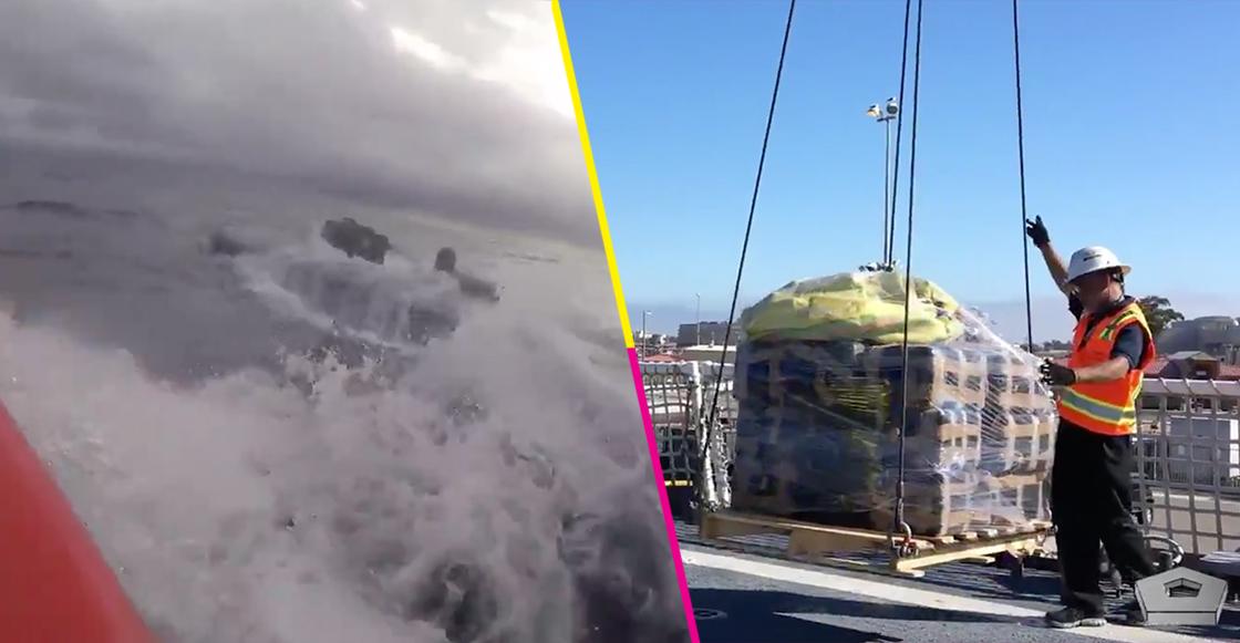 Guardia Costera de EUA intercepta submarino con casi 18 mil toneladas de cocaína