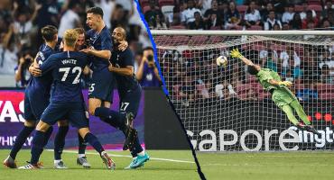 El golazo desde media cancha que le hizo Harry Kane a la Juventus