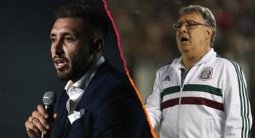 """Héctor Herrera confunde al Tata, """"Gerardo Martínez"""" en su presentación """