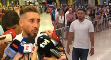 ¡Ya está en España! Así fue la llegada de Héctor Herrera a Madrid