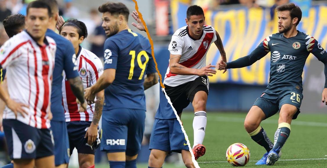 ¿Son sus 'hijos'? Esta fue la última vez que América y Chivas le ganaron a Boca Juniors y River Plate