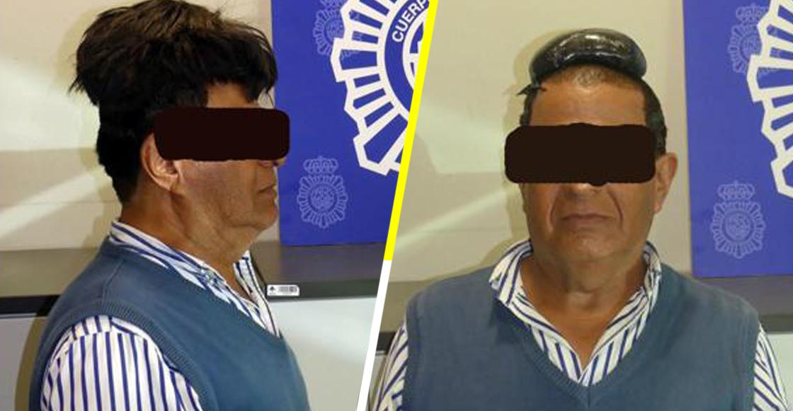Atrapan a hombre en el aeropuerto al intentar pasar cocaína debajo de su peluca
