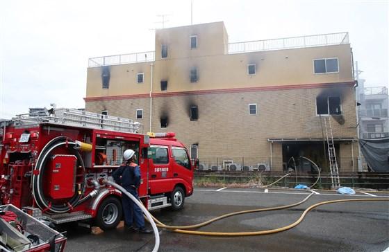Al menos 33 muertos por incendio en edificio de Kyoto Animation
