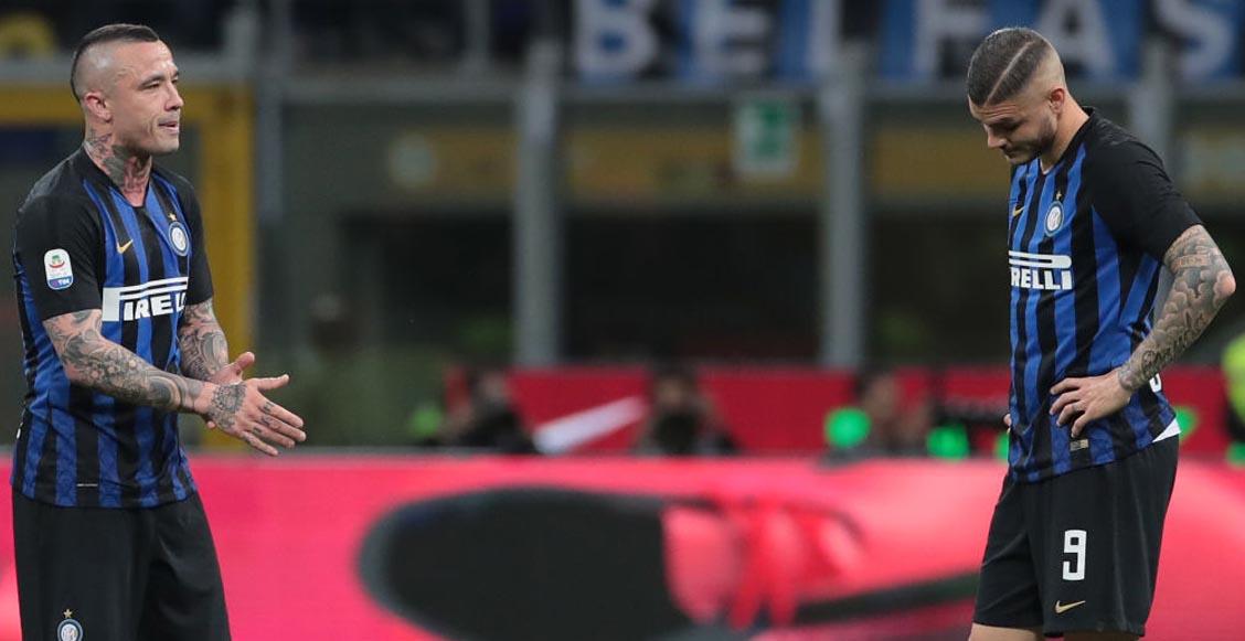 ¡A buscar equipo! Icardi y Nainggolan ya no entran en los planes del Inter