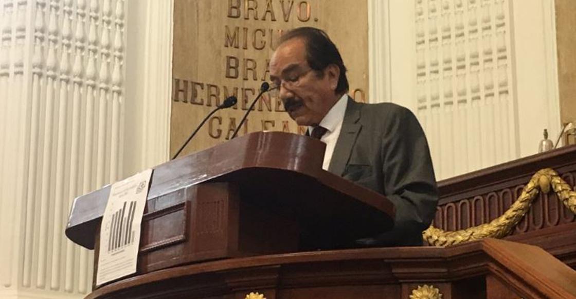 ¡Ah jijo! Al diputado Jesús Martín del Campo se le salieron unas cuantas groserías en pleno Congresp