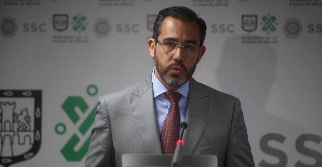"""""""Detenciones han provocado 'movimientos en grupos delictivos' en CDMX"""": Jesús Orta"""