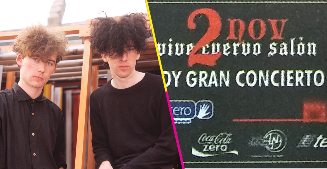 The Jesus and Mary Chain y las veces que ha visitado México