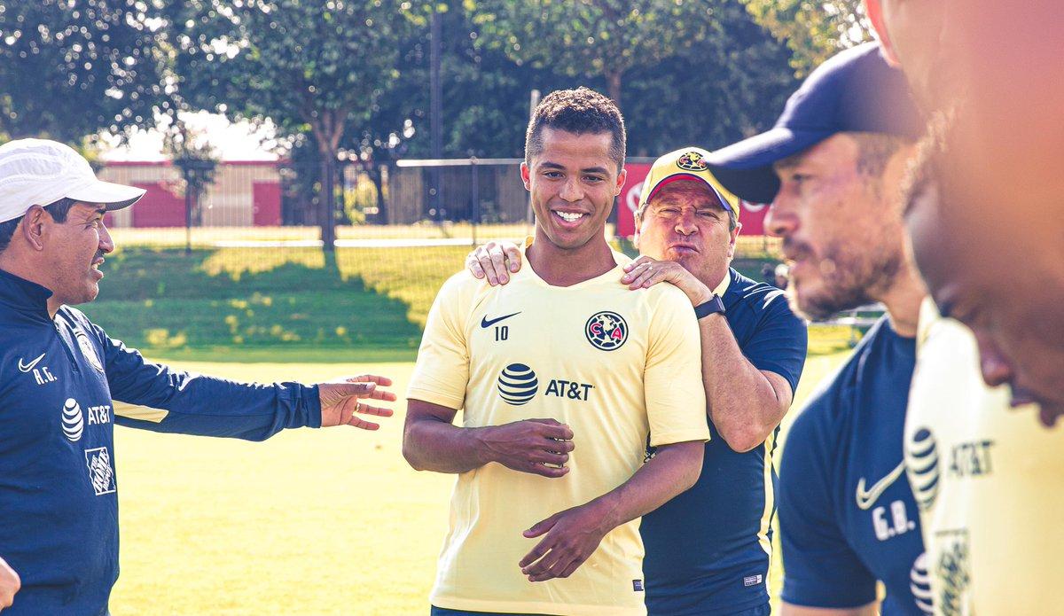 Jonathan dos Santos: 'Me encantaría alcanzar a Giovani en el América'