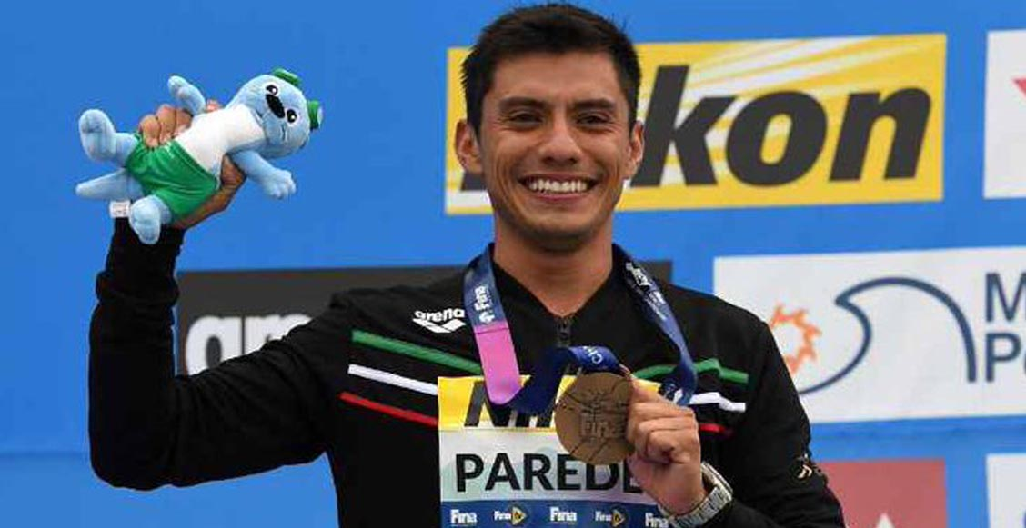 ¡Jonathan Paredes ganó bronce para México desde los 27 metros en Gwangju 2019!