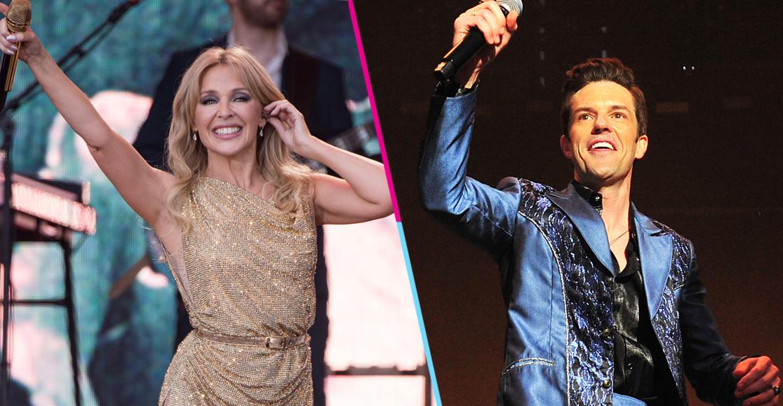 La gran importancia de los shows de The Killers y Kylie Minogue en Glastonbury 2019