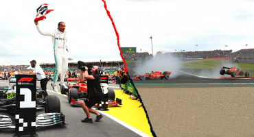 El triunfo de Hamilton, el choque Vettel-Verstappen, la mala suerte de Checo: Lo que nos dejó el Gran Premio británico