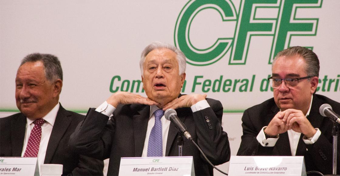 Dice Bartlett que apagones en Baja California son culpa de los pasados gobiernos