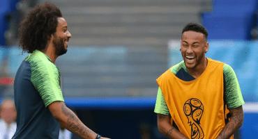 Hazard es muy crack, pero Marcelo dice que Neymar la rompe más