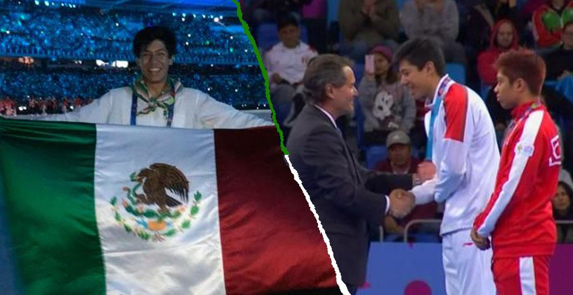 Marco Arroyo, de 18 años, le da a México su primera medalla en los Juegos Panamericanos