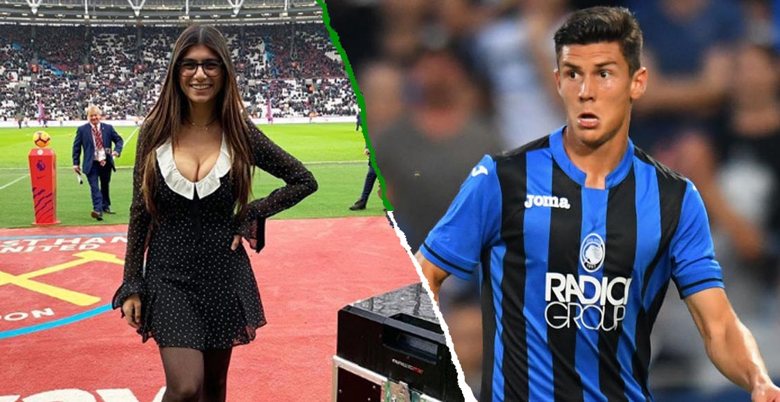 Futbolista del Atalanta se hizo viral por 'presumir' una bolsa firmada por Mia Khalifa