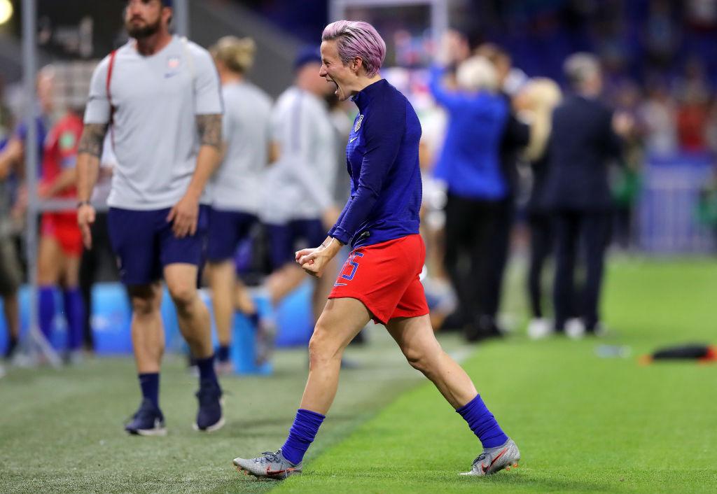 Megan Rapinoe arremetió contra la FIFA no darle importancia a la final del Mundial Femenil
