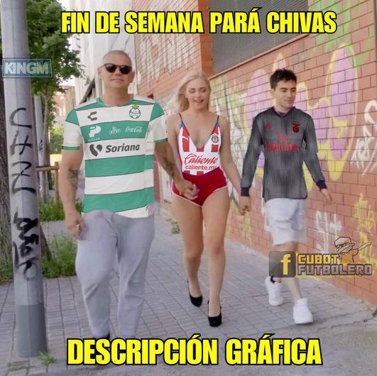 El Atlético no goleó a las Chivas pero sí les llovieron memes por su derrota