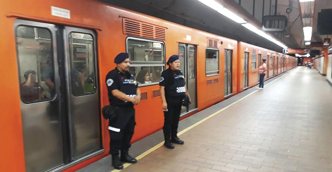 Desalojan y retiran un tren de la Línea 7 del Metro; la marcha es lenta