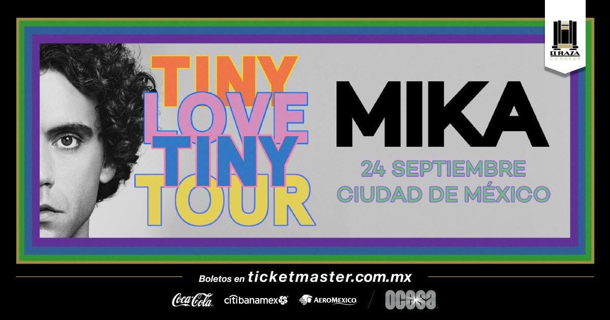 ¡Mika regresa a México para dar un concierto en El Plaza Condesa!