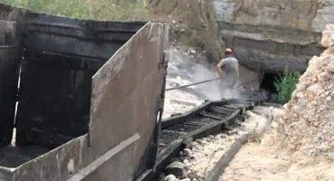 Se derrumbó una mina clandestina en Coahuila; una persona quedó atrapada