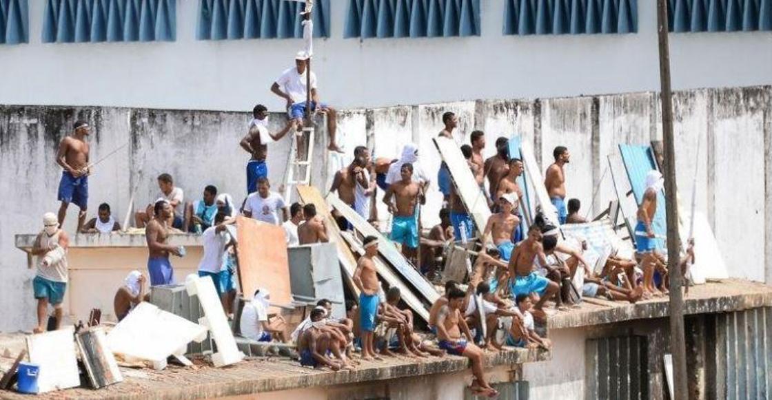 Resultado de imagen para motin en carcel de brasil
