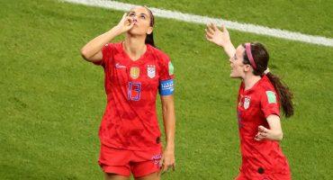 Por este motivo festejó así Alex Morgan su gol en el Mundial Femenil