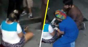 Por presunta negligencia mujer da a luz afuera de un hospital en Nuevo León