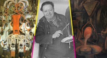 Arruinan cuatro murales de Diego Rivera durante obras de remodelación en la SEP