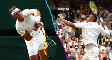 Nick Kyrgios acepta que pelotazo a Rafa Nadal en Wimbledon fue intencional
